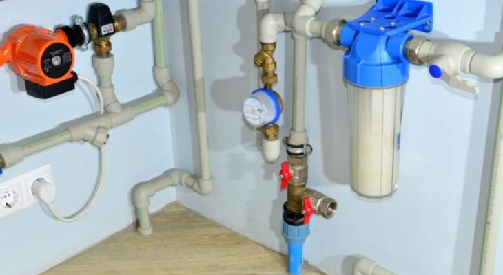 Springwell WS1 whole house groundwater filter system